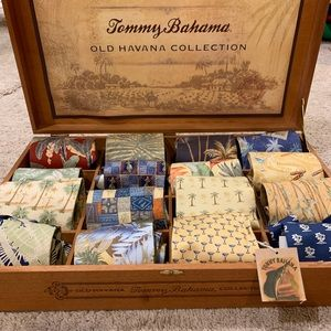 Entire Tommy Bahama Old Havana tie collection!